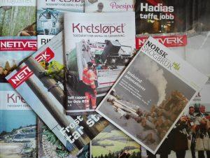 Kretsløpet, Norsk Skogbruk, Nettverk, LABO-magasinet, Ringbo-magasinet