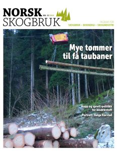 Norsk Skogbruk som utgis av Det norske Skogselskap